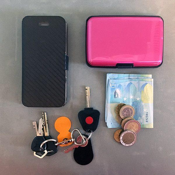 Alumiininen NFC-suojattu lompakko - Retkelle.com